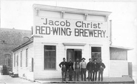 Jacob Christ's Red Wing Brewery